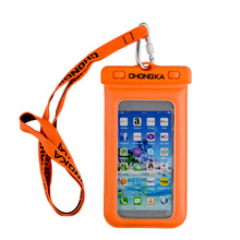 wholesale phone waterproof dry bag pouch case for iphone6 for skiing