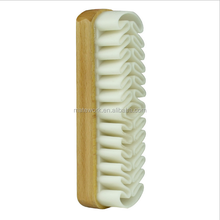 Shoe cleaning rubber suede wooden shoe brush