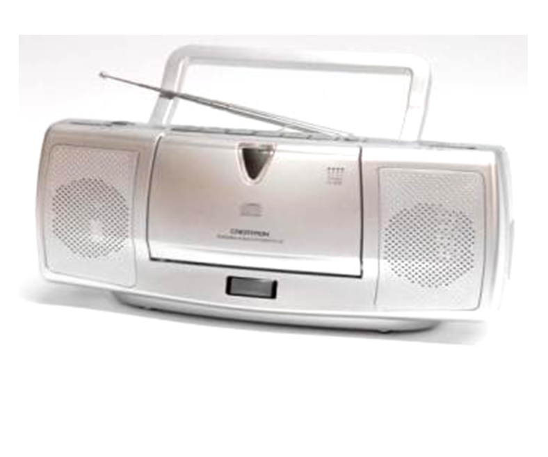 PCD-28 AM/FM-Stereo Radio CD Player Portable Speaker