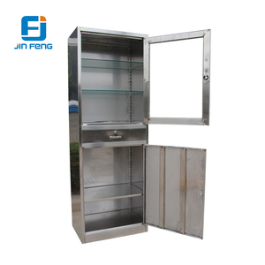 Knock Down Stainless Steel Storage Cabinet/ Antirust Wardrobe