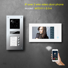2 wire IP video door phone based on android system for villa and apartment application / support smartphone APP