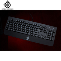 2016 newest wired mechanical ergonomic keyboard gaming with 50mm Big Hand hold