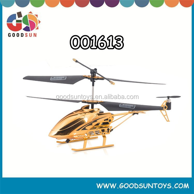 Gold edition 3.5 channel Airplane RC flying helicopter with light 001613