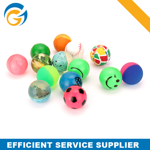 Mix Packing Promotional 45mm Vending Machine Bouncy Ball