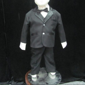 D5004 Baby boy suit for wedding black