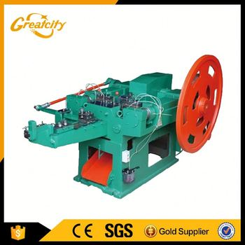 Energy saaving machine for making nail and screw