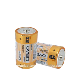 Size d dry cell battery 1.5v LR20 battery