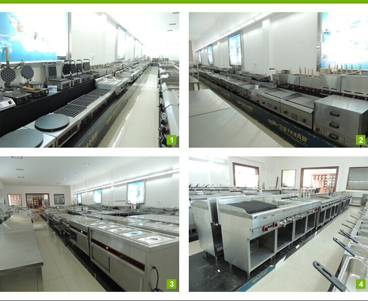 commercial stainless steel cooking equipment/hotel restaurant gas cooker with 4 burners BN600-G608 )