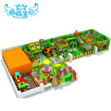 Small beautiful indoor playground with good price for day care center