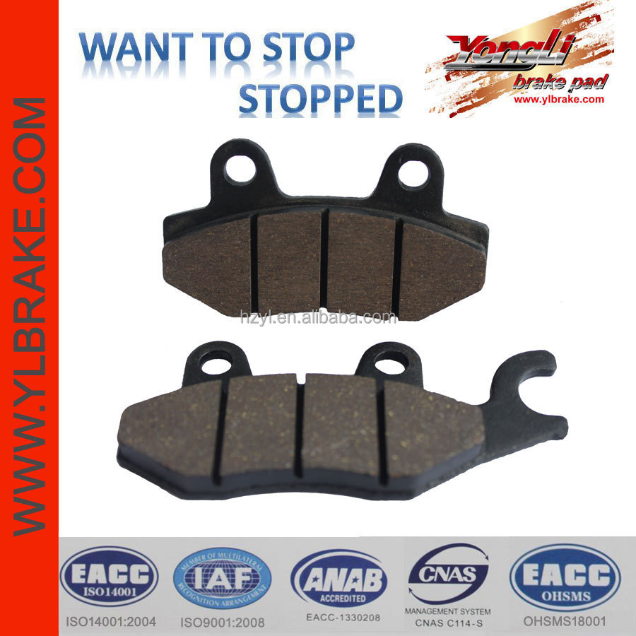 China quality best motorcycle brake pads,no noise manufacture Disc brake pads,hot selling high qulity motorcycle brake pad