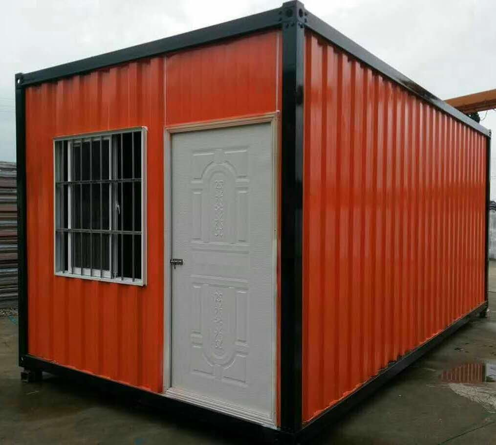 New dry container type 20ft/40ft shipping container house for sale