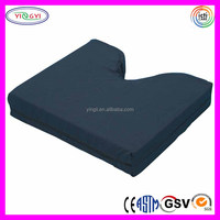 F086 Latex Free Gel Cool Cushion Hernia Support Back Pillow Memory Foam Ripstop Hernia Support Cushion