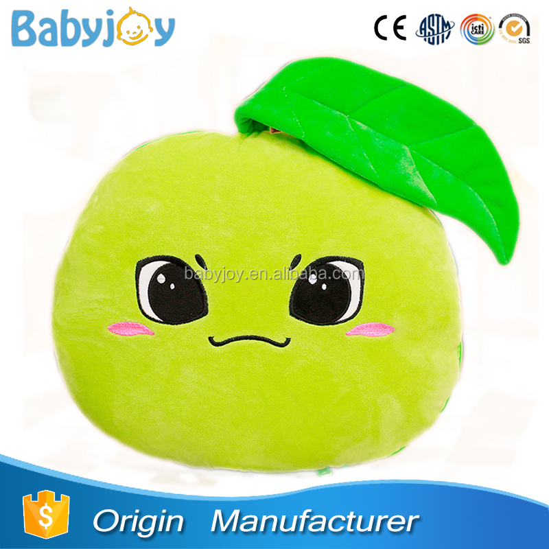 Customized Cushions Fruits Pillow Apple Shaped Pillow