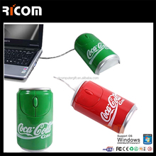 cola bottle shape funny computer mouse--MO7007-----Shenzhen Ricom