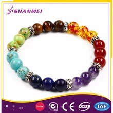 South Africa Market Oriented Tiger Eye Various Stones Bracelet