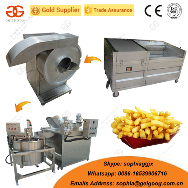 French Fried Making Machine Potato Chips Machine Price