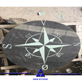 Natural granite compass pattern paving stone manufacturer