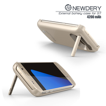 power bank charger phone for samsung s7 portable power case for galaxy s7 wireless charger case