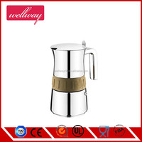 Ideal to Brew Coffee Moka Pot Coffee Maker with Safety Vavle