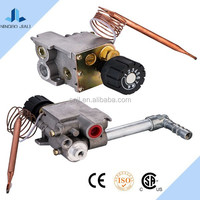 Heavy duty gas range used gas thermostatic valve