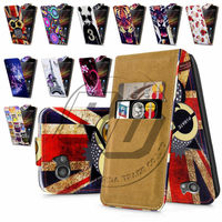 For Sony Xperia M C1905 High Quality Print Flip PU Leather Case Cover Moible Phone Case