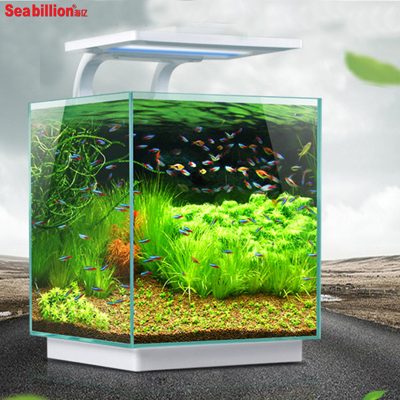 High quality acrylic fish aquarium tank aquarium with led for How to build an acrylic fish tank