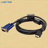 High quality gold plated connector mini hdmi to vga cable for ipad