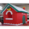Pretty Outdoor Inflatable Christmas House Inflatable