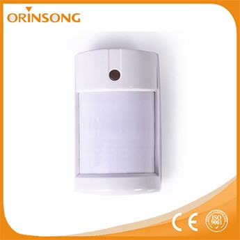 Low voltage detecting electronic circuit motion sensor