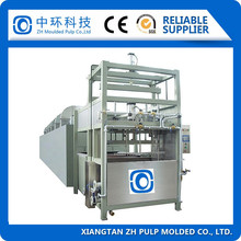 paper pulp egg carton tray making machine/small paper recycling machine manufacture for sale 2000pcs/hr