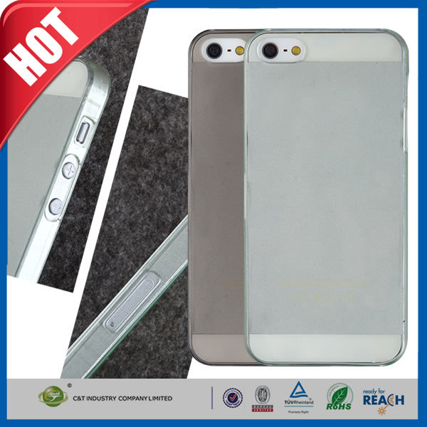 C&T Fashion Ultra Thin Slim Hard PC Shell Crystal Clear Back Cover Case for Apple iPhone 5 5S