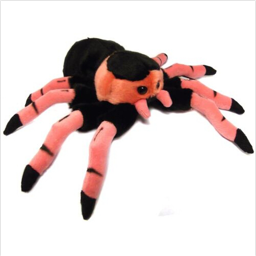 spider stuffed toy, plush stuffed animal toy spider
