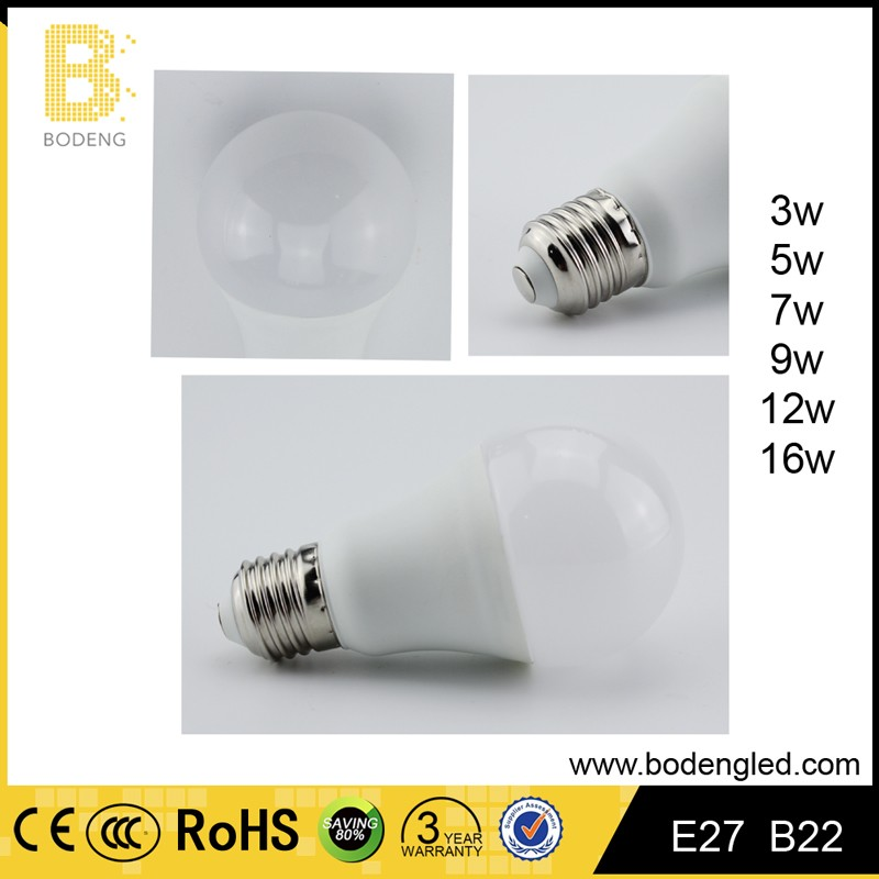 China manufacturer energy saving 3w led light bulbs wholesale