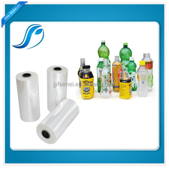PVC/PET Shrink Label Film For Plastic Bottle