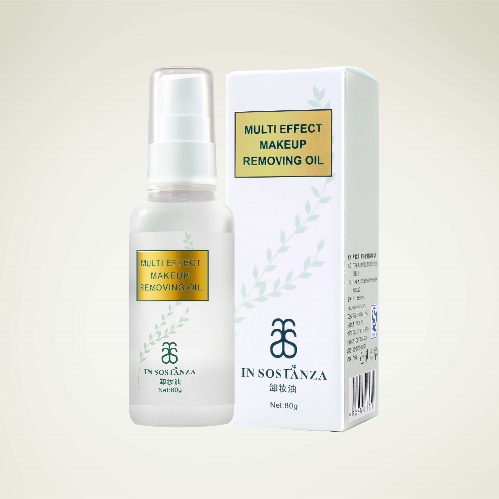 Plant oil ingredient Soft for Face Makeup/Cosmetic cleansing oil