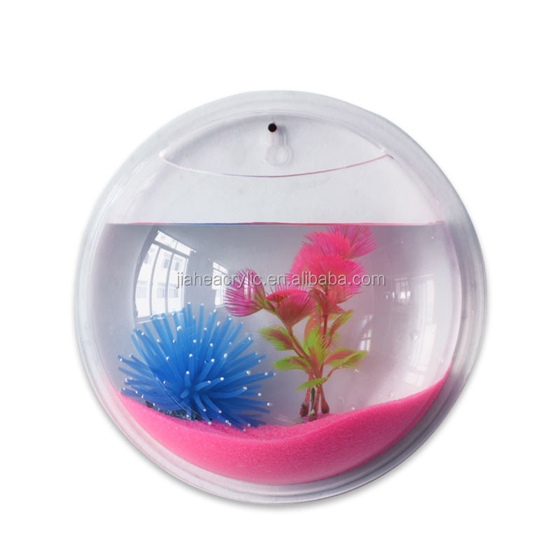 Pet products aquariums accessories customized acrylic for Acrylic fish bowl