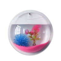 Pet Products Aquariums & Accessories customized acrylic fish bowl wall mounted fish tanks wholesale