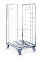 roll container,roll cage, warehouse trolley