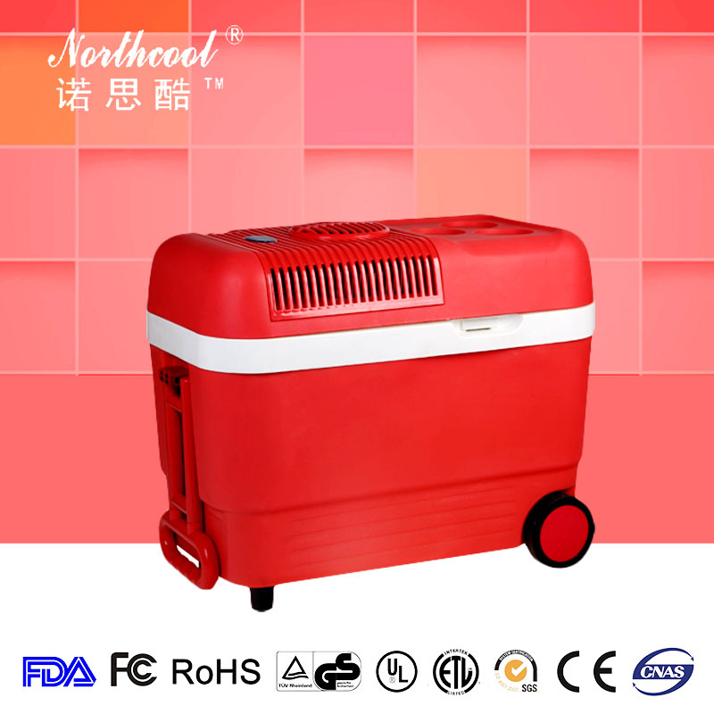manual defrost table top wheel portable mini fridge