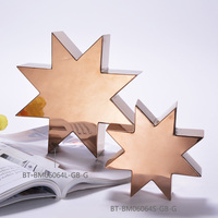 New design metal wall sculpture leaf wall sculpture for home decor
