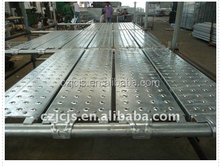 high quality /steel plank galvanized/ with hook/scaffolding