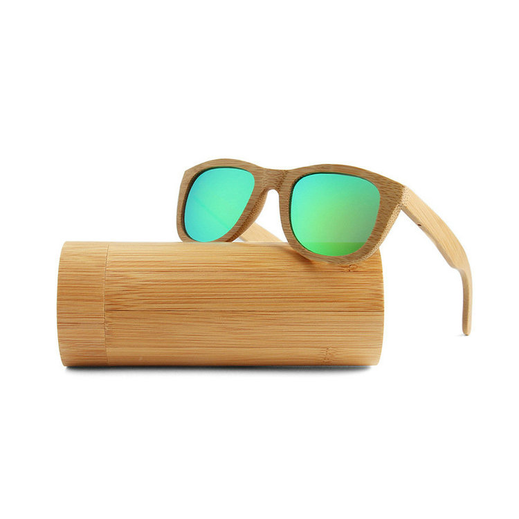 oval shape wood frame gradient lens wooden bamboo sun glass for fashion lady <strong>manufacturer</strong>