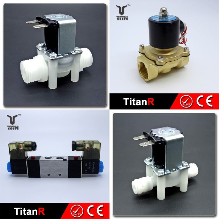 Water-softener pipeline machine water treatment pilot operated steam solenoid valve