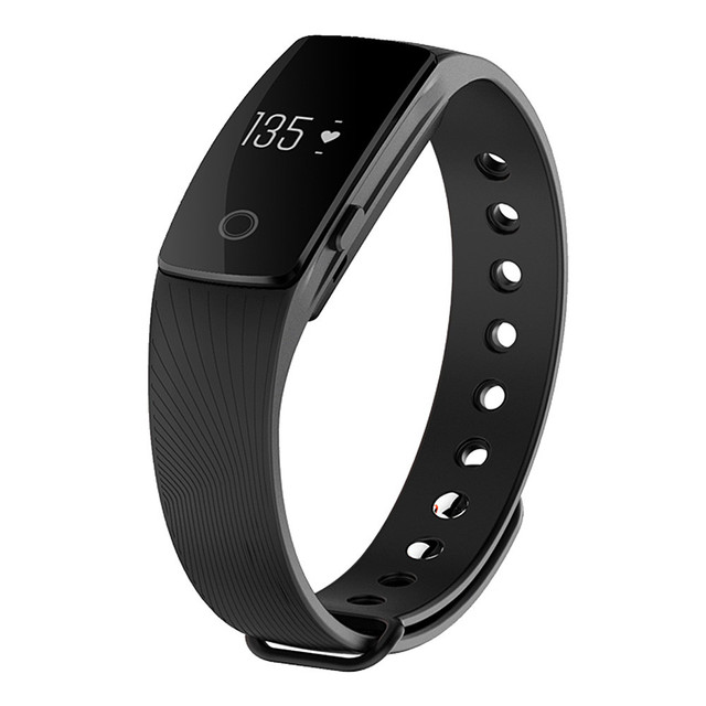 IN STOCK Makibes ID107 Bluetooth Smart Bracelet smart band Heart Rate Monitor Wristband Fitness Tracker for Android iOS