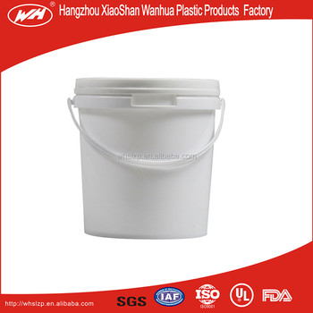 2 Liter PP bucket for sealant,powder,etc