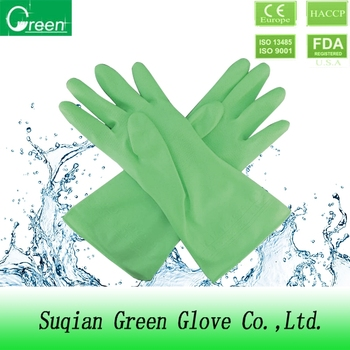 cheap pvc cleaning gloves with high quality
