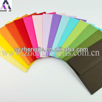 Colorful envelope for packaging