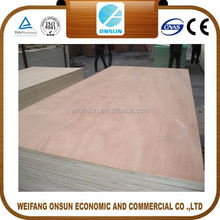 hot sale good quality furniture grade commercial plywood board price in sale