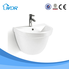 New products modern furniture design ceramic wall-hung basin