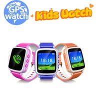 waterproof popular Q50 Q60 GPS tracker LBS SOS cell Phone calls kids smart watch for baby children